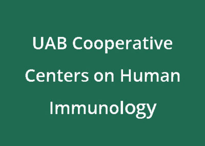 UAB Cooperative Centers on Human Immunology
